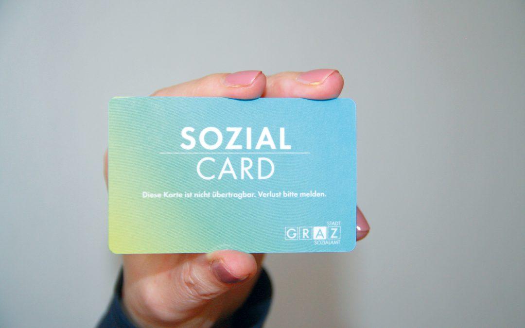 Neuerungen bei der Grazer SozialCard